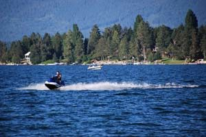Jet Ski's on Flathead Lake